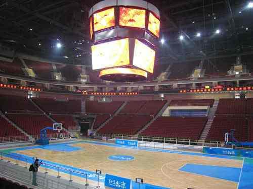 北京五棵松体育馆 与德业取得友好协作